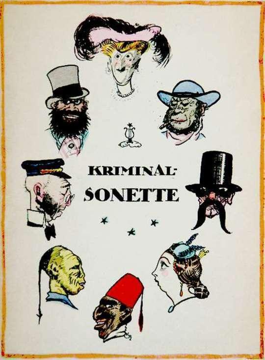 Kriminal-Sonette