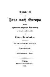 Rückreise von Java nach Europa mit der sogenannten englischen Überlandpost im September und October 1848