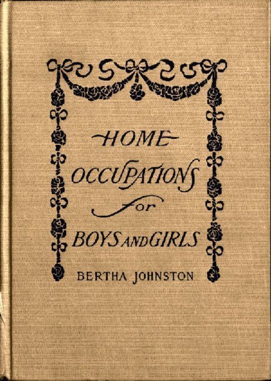 Home Occupations for Boys and Girls