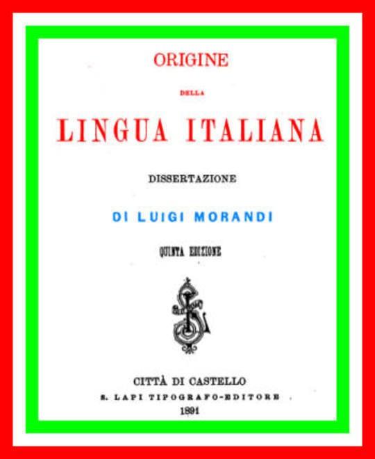 Origine della lingua italiana: dissertazione