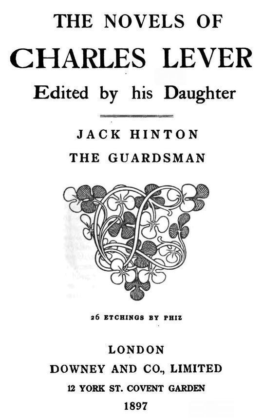 Jack Hinton: The Guardsman