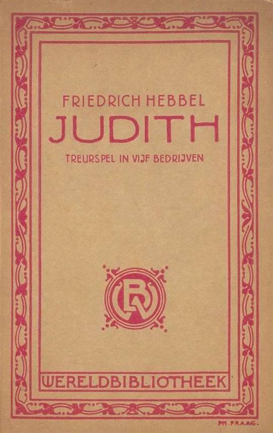 Judith: treurspel in vijf bedrijven