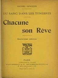 Chacune son Rêve