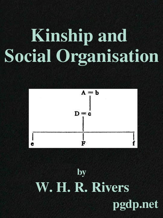 Kinship and Social Organisation