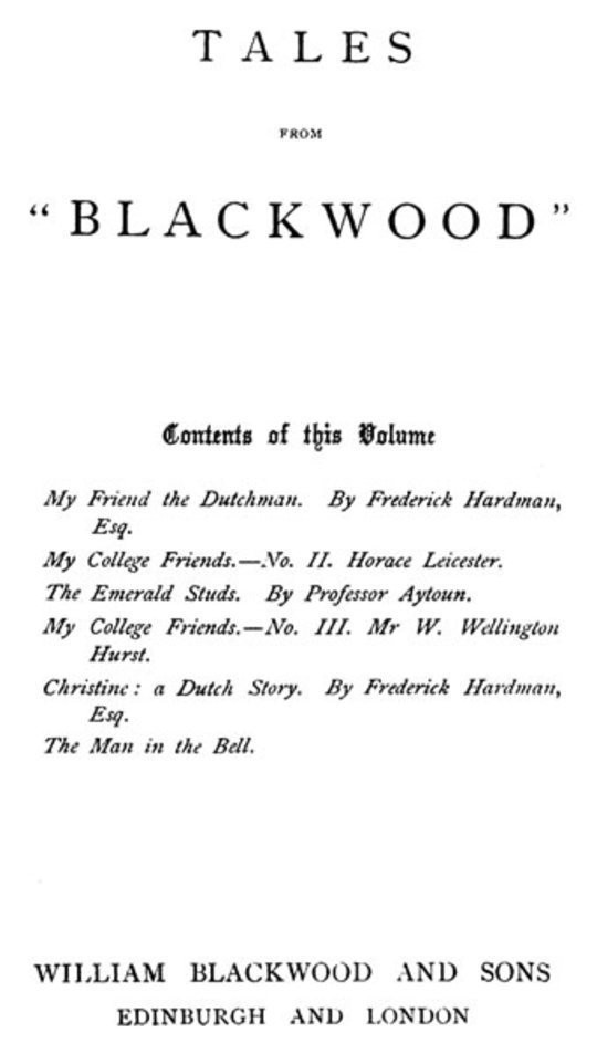 "Tales from ""Blackwood,"" Volume 6"