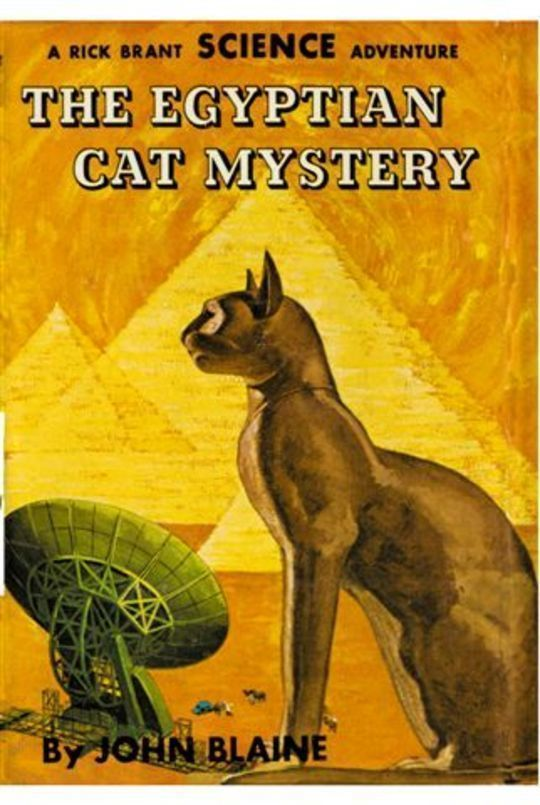 The Egyptian Cat Mystery: A Rick Brant Science-Adventure Story