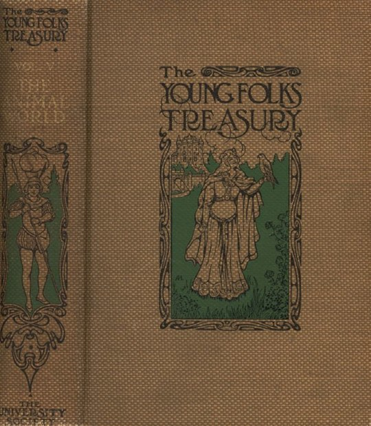 The Animal World, A Book of Natural History Young Folks' Treasury (Volume V)