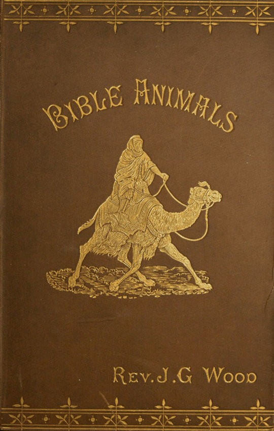 Bible Animals; Being a Description of Every Living Creature Mentioned in the Scripture, from the Ape to the Coral.