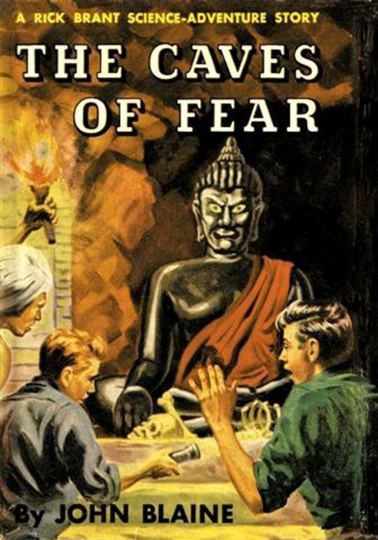 The Caves of Fear: A Rick Brant Science-Adventure Story