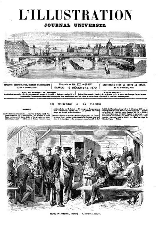 L'Illustration, No. 1607, 13 décembre 1873