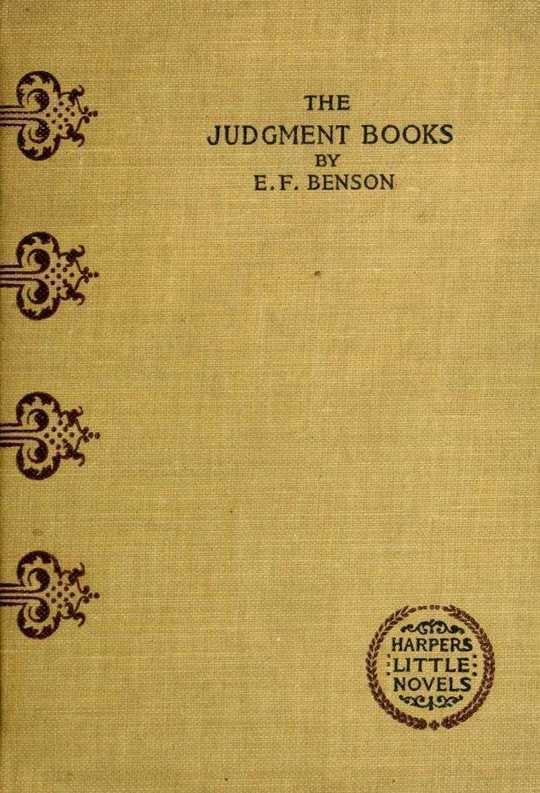 The Judgment Books A Story