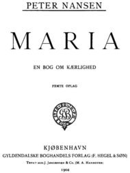 Maria En Bog om Kærlighed
