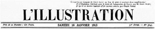 L'Illustration, No. 3647, 18 Janvier 1913