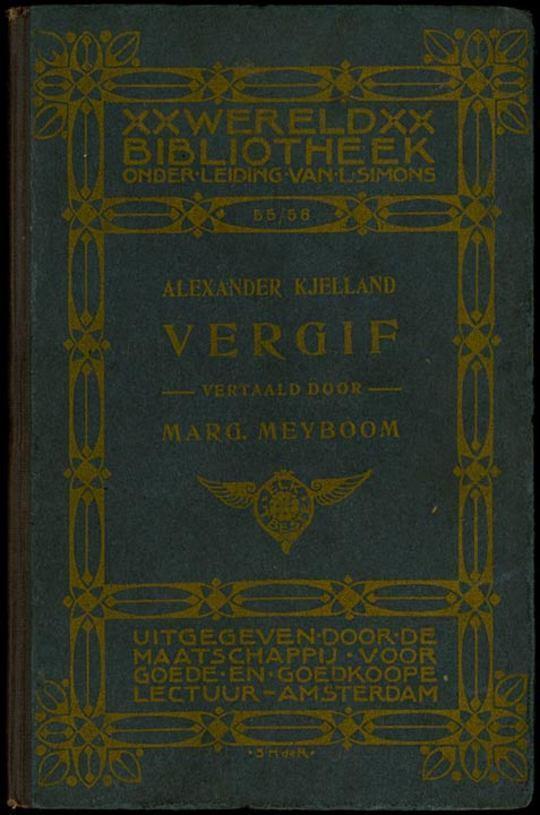 Vergif: Een Roman uit het Noorsch