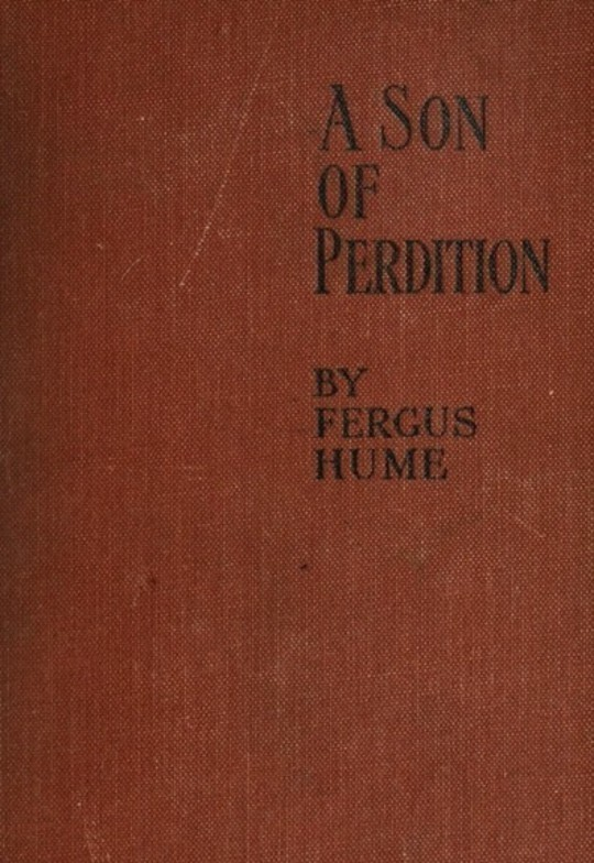 A Son of Perdition: An Occult Romance