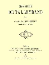 Monsieur de Talleyrand