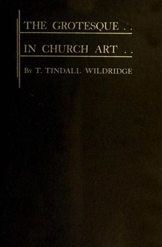 The Grotesque in Church Art