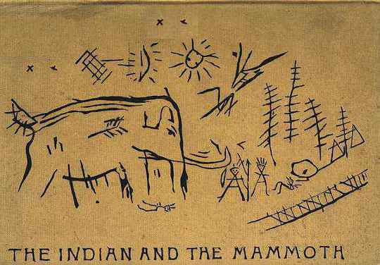 The Lenape Stone or, The Indian and the Mammoth