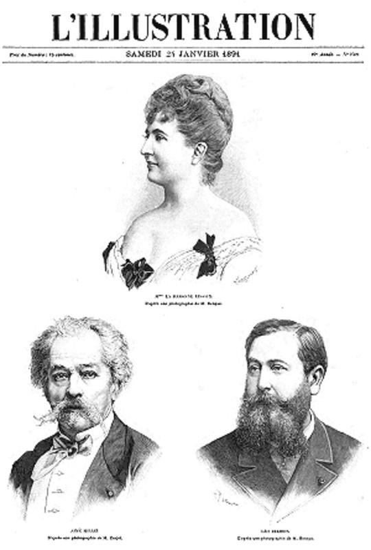 L'Illustration, No. 2500, 24 Janvier 1891
