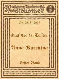 Anna Karenina, 1. Band