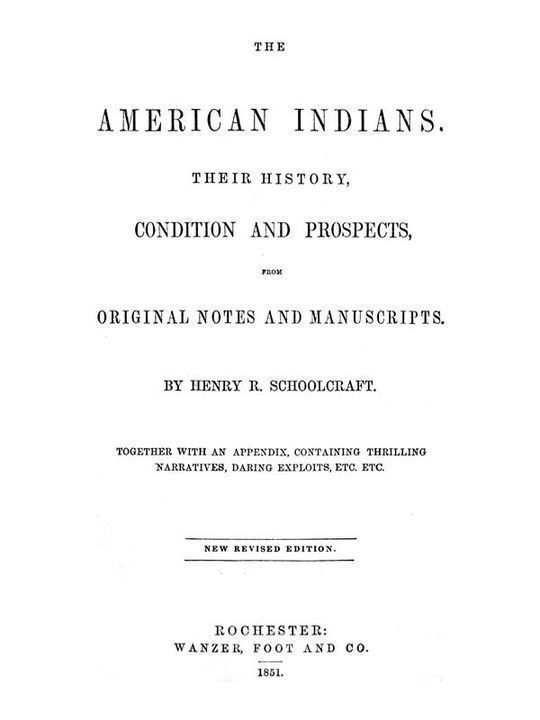 The American Indians Their History, Condition and Prospects, from Original Notes and Manuscripts