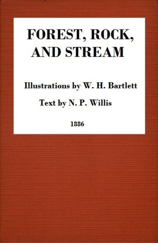 Forest, Rock, and Stream A series of twenty steel line-engravings