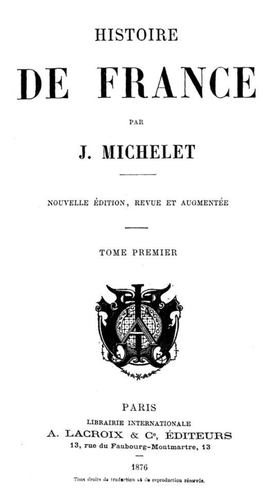 Histoire de France (Volume 1/19)