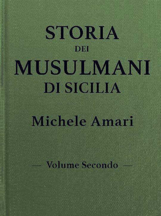 Storia dei musulmani di Sicilia, vol. II
