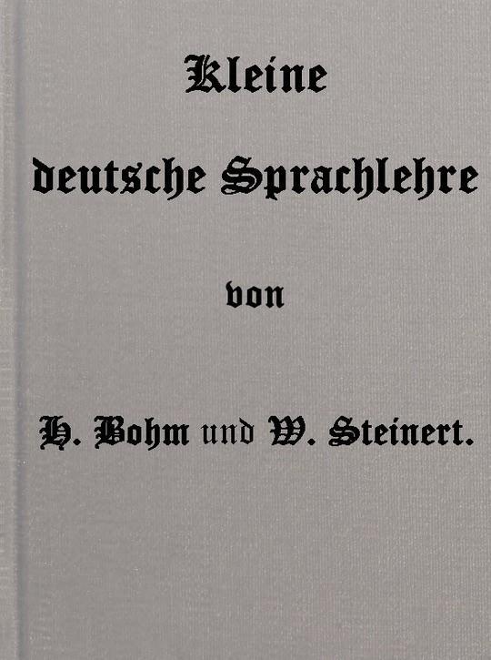 Kleine deutsche Sprachlehre