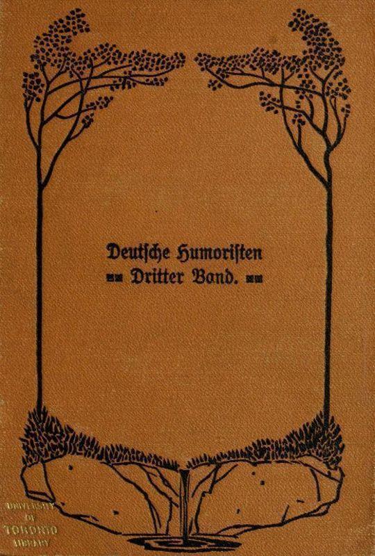 Deutsche Humoristen Dritter Band