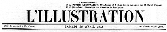 L'Illustration, No. 3661, 26 Avril 1913
