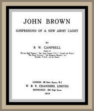 John Brown Confessions of a New Army Candidate
