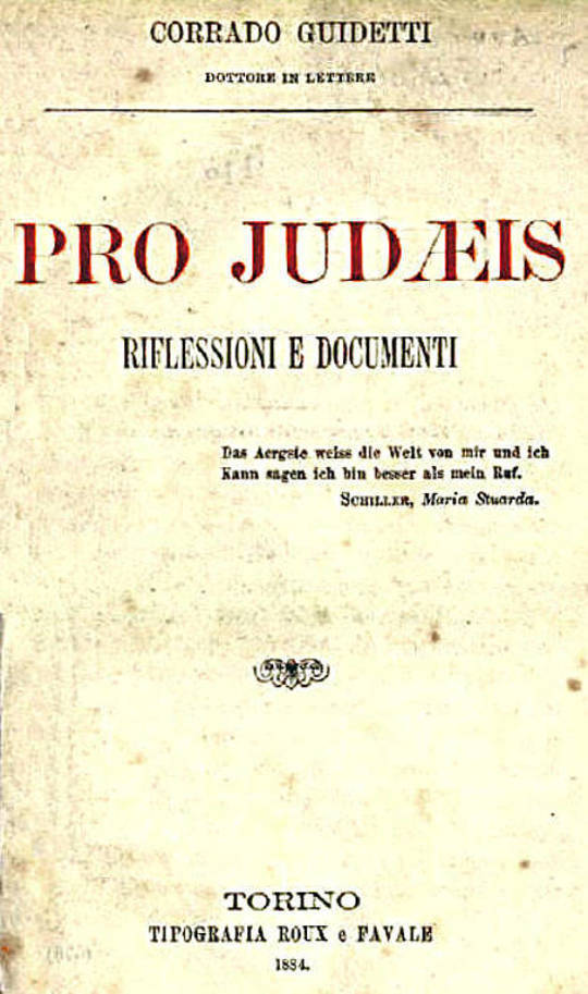 Pro Judaeis Riflessioni e Documenti