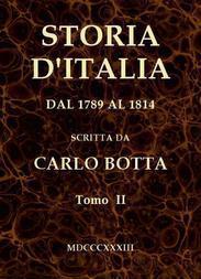 Storia d'Italia dal 1789 al 1814, tomo II