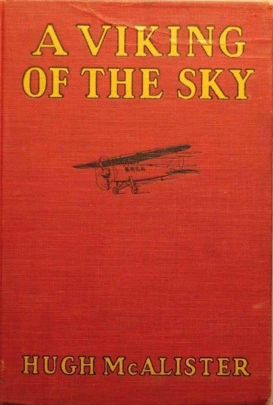 A Viking of the Sky A Story of a Boy Who Gained Success in Aeronautics