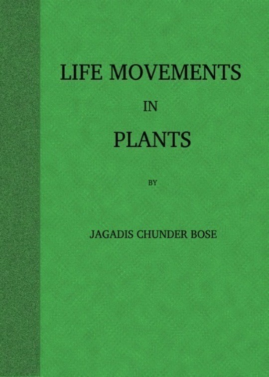 Life Movements in Plants
