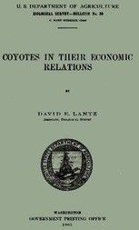 Coyotes in Their Economic Relations