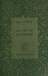 La voz de la conseja, t.2