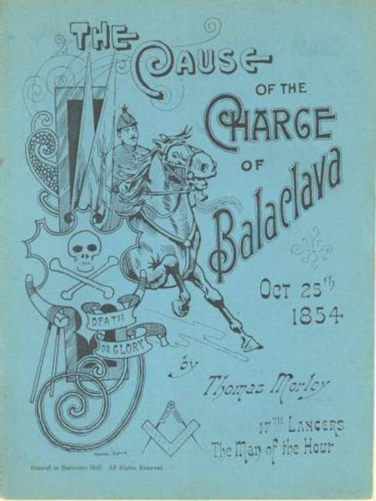 The Cause of the Charge of Balaclava