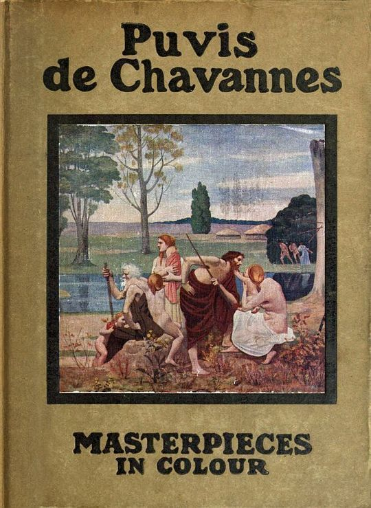 Puvis de Chavannes Masterpieces in Colour Series