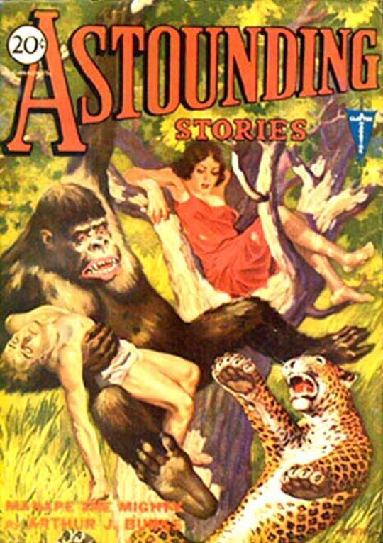 Astounding Stories, June, 1931