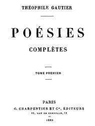 Poésies Complètes - Tome 1