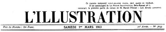 L'Illustration, No. 3653, 1er Mars 1913