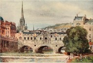 Cathedral Cities of England 60 reproductions from original water-colours