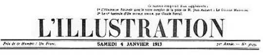 L'Illustration, No. 3645, 4 Janvier 1913