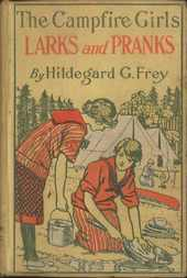 The Camp Fire Girls' Larks and Pranks; Or, The House of the Open Door