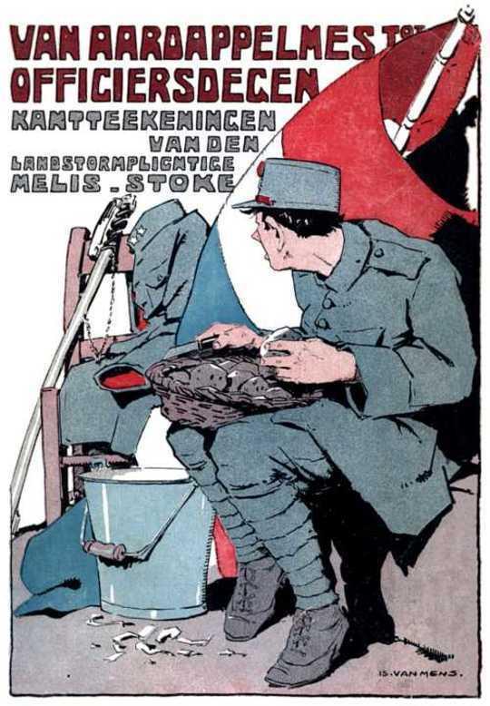 Van Aardappel-mes tot Officiersdegen Uit het Dagboek van een Landstormplichtige.