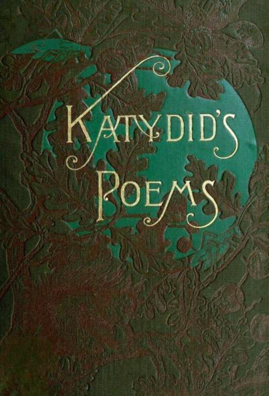 Katydid's Poems