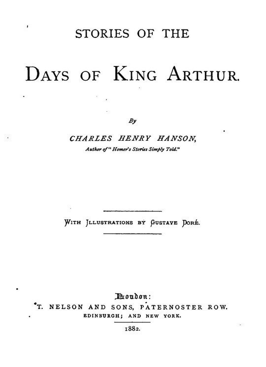 Stories of the Days of King Arthur