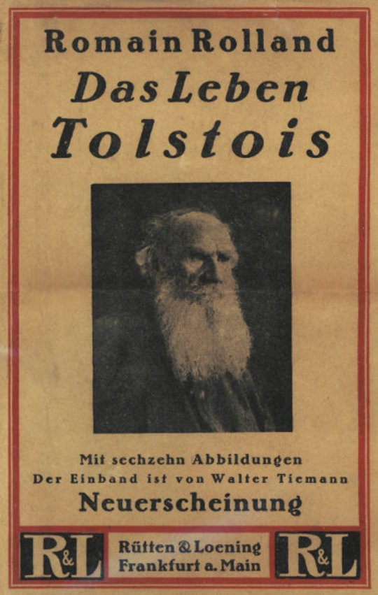 Das Leben Tolstois